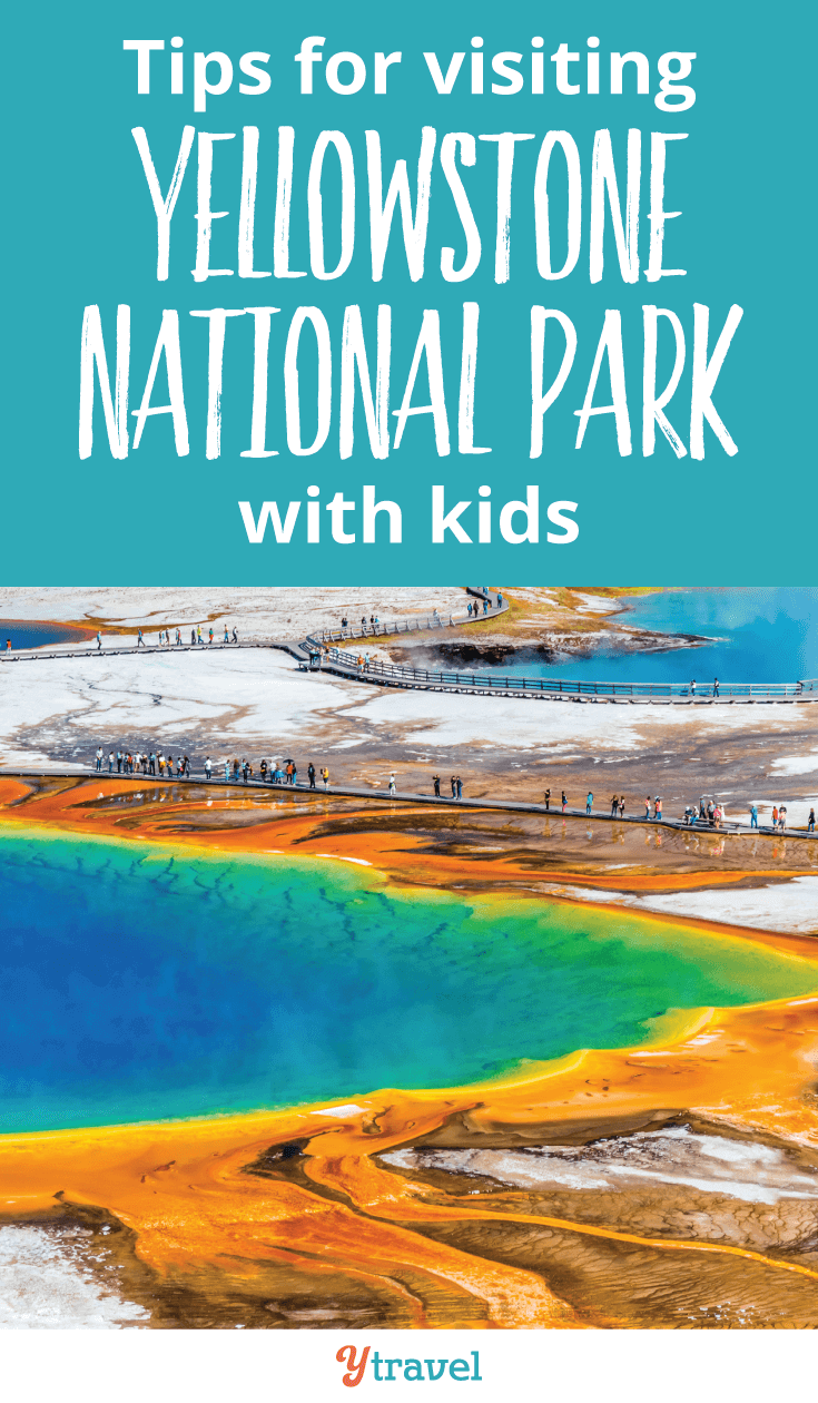 Visiting Yellowstone National Park is a must for your USA travel bucket list. Here are 8 tips for visiting Yellowstone National Park with kids.