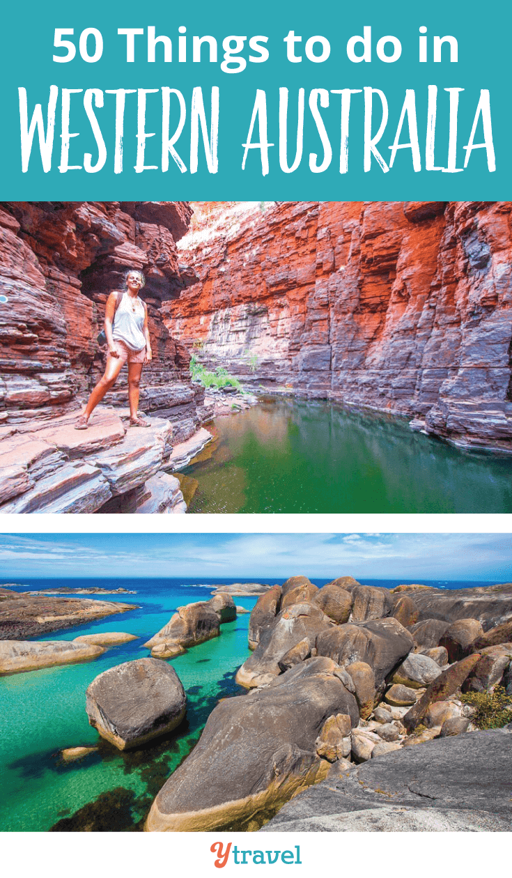 Planning a trip to Australia soon? Have a look at these 50 things to do in Western Australia.