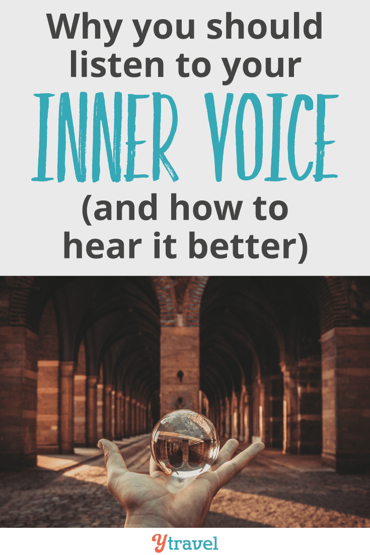 Why you should listen to your inner voice (and how to hear it better)