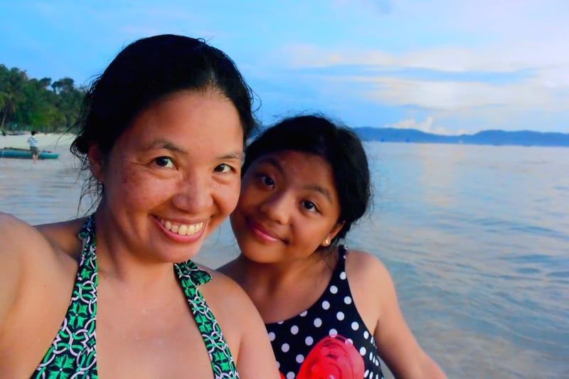 At Angol Beach Boracay