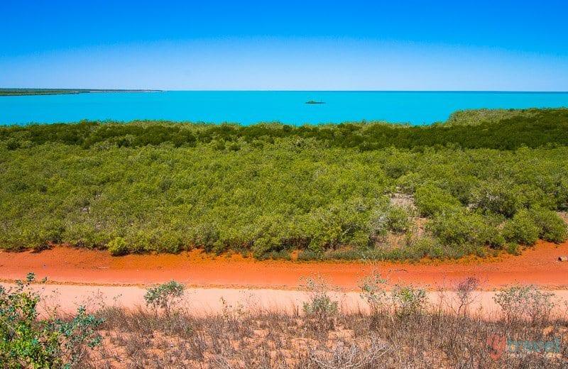 Mangrove Hotel beer garden, Broome, Western Australia