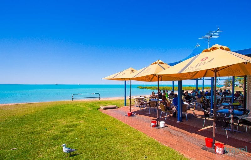 Breakfast at Town Beach Cafe, Broome, Western Australia