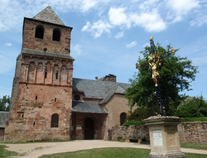 Church of Saint Pierre Bessuejouls France