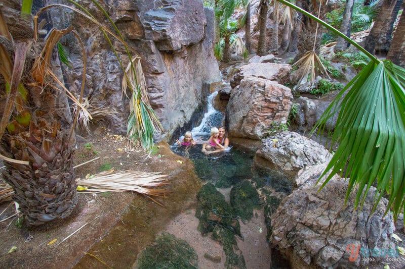 Zebedee Springs, El Questro, Western Australia