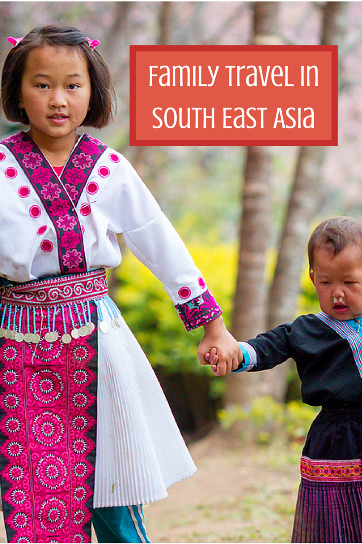family travel in South East asia