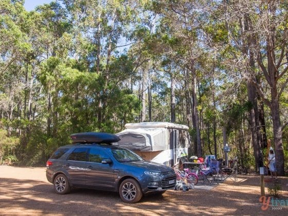 One of Australia's Best Campsites: Wharncliffe Mill Bush Retreat