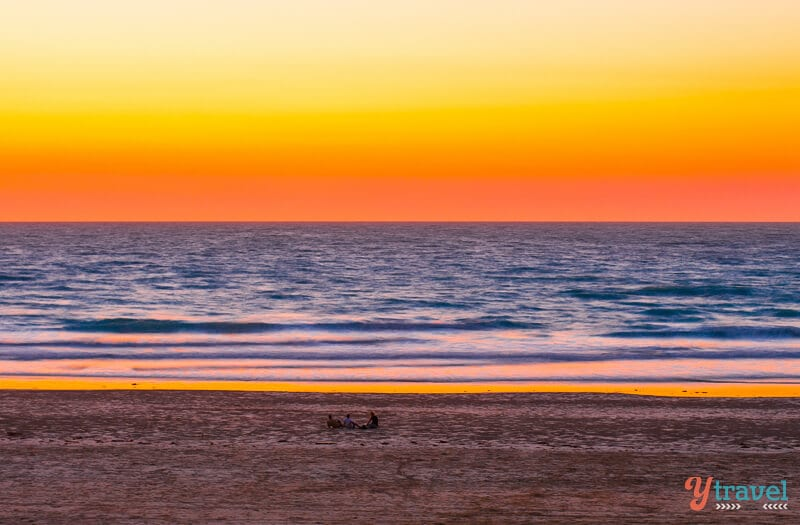 Sunset at Cable Beach in Broome, Western Australia