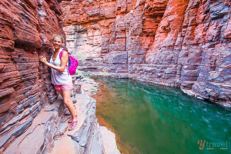 Knox Gorge walk - Karijini National Park, Western Australia