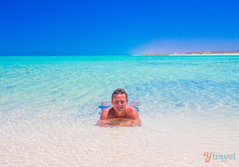 Find paradise at Sandy Bay, Western Australia