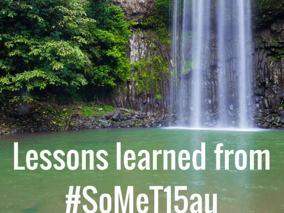 Lessons learned from the Social Media Tourism Symposium #SoMeT15Au