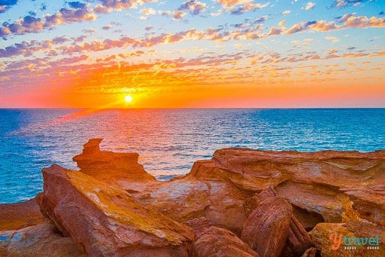 Sunset from Gantheaume Point, Broome, Western Australia