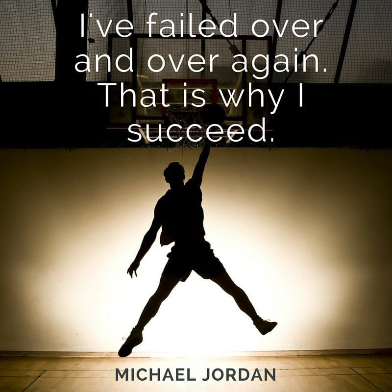 Michael jordan quote success