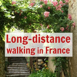long distance walking in France