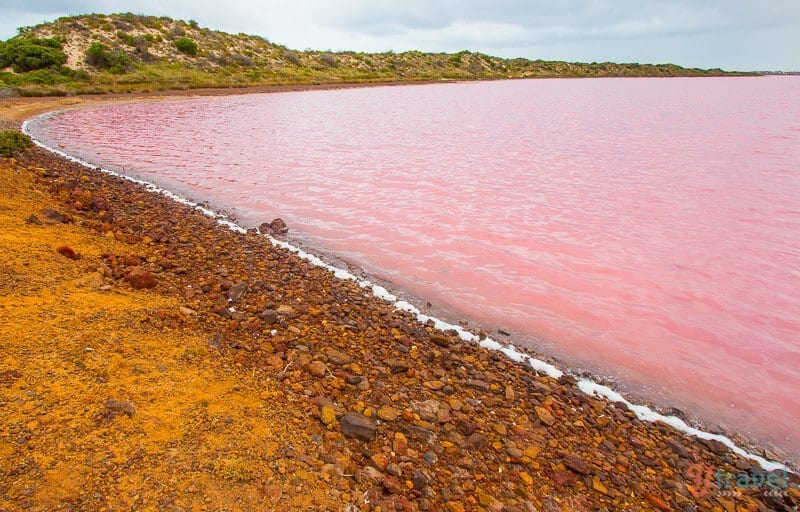 Pink Lake, Port Gregory, Western Australia
