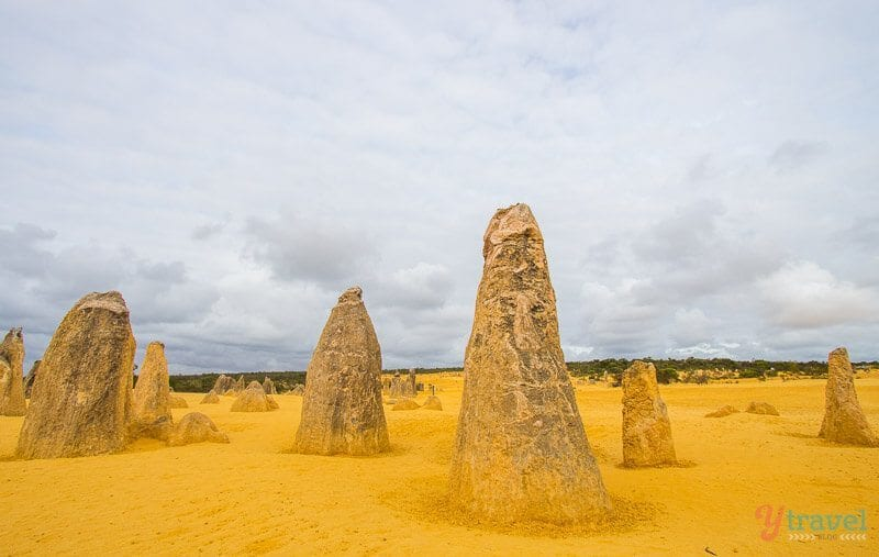 The Pinnacles in Nambung National Park, Western Australia