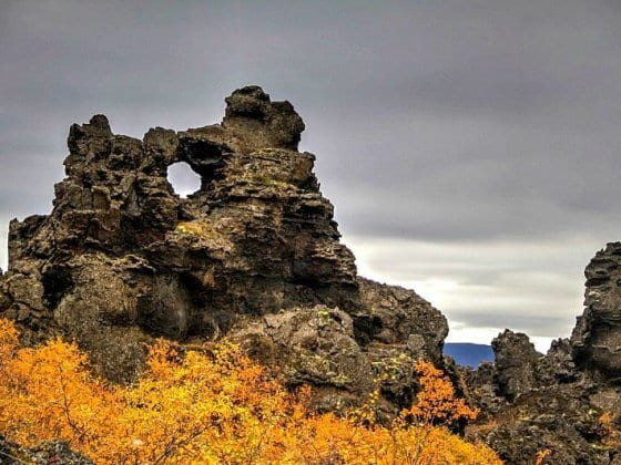 Dimmuborgir - Iceland
