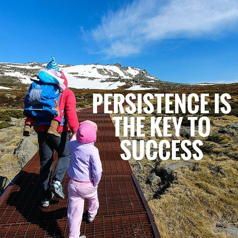 persistence quote