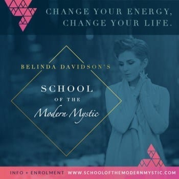 Belinda Davidson's School of the Modern Mystic starts September 29th!