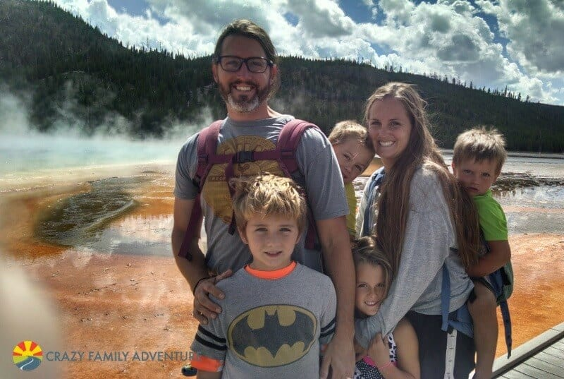 Visiting Yellowstone National Park with kids