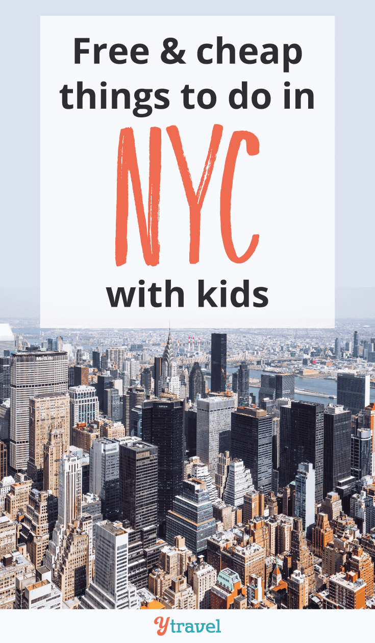 Planning a family vacation to New York City soon? We've rounded up 8 free or cheap things to do in NYC with kids.