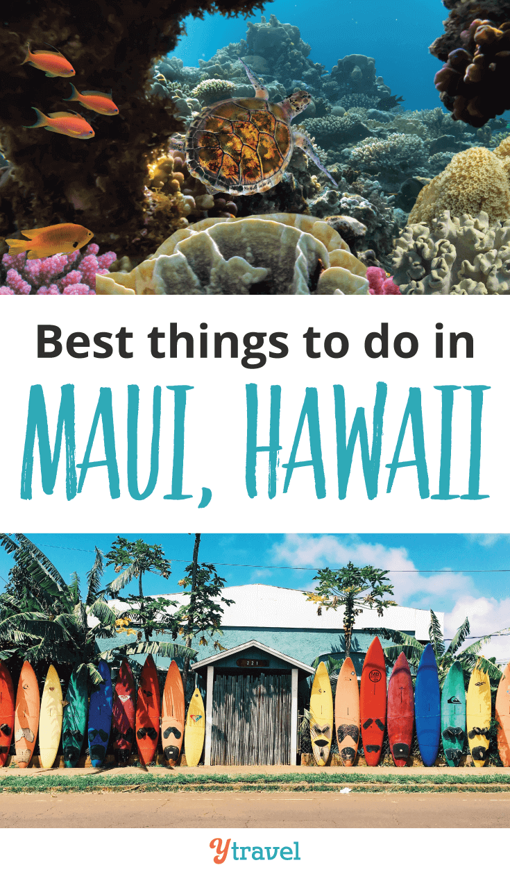The perfect itinerary for a quick trip to Hawaii. Here are the best things to do in Maui on a short break.