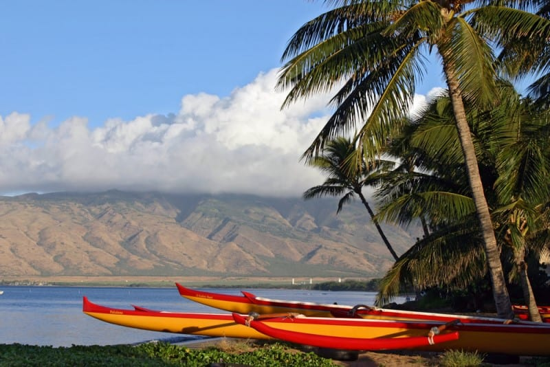 Canoe Maui Hawaii