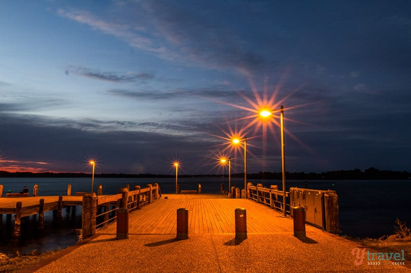 Lady Nelson Wharf, Port Macquarie, NSW, Australia
