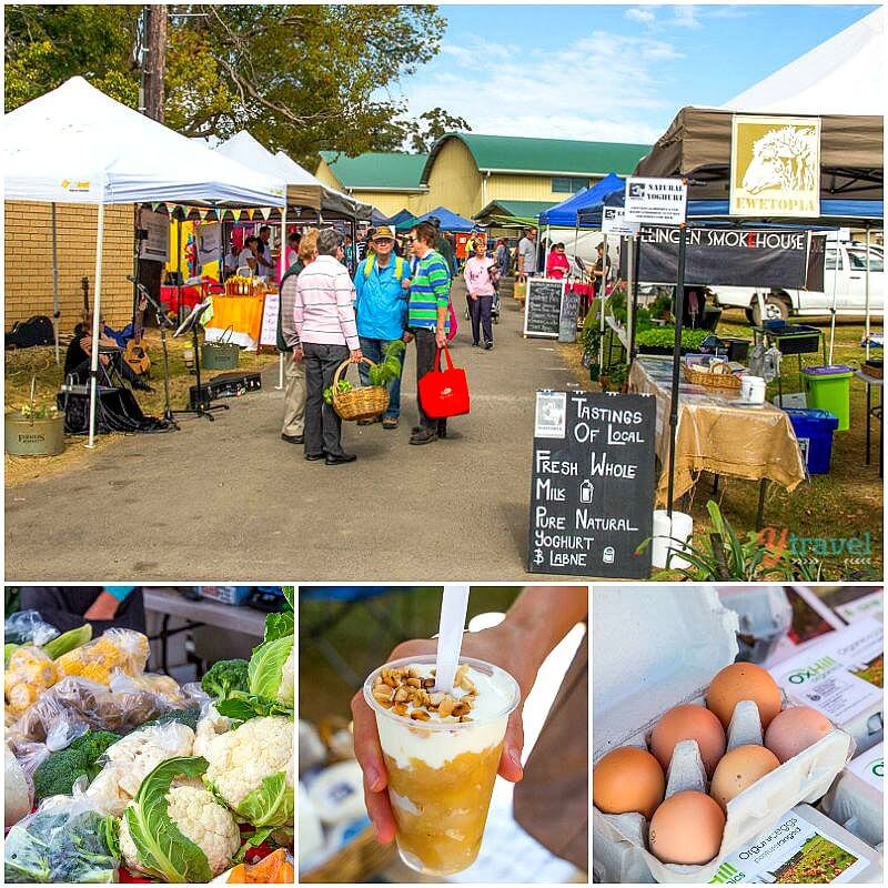 Wauchope Farmers Market, Port Macquarie, NSW, Australia