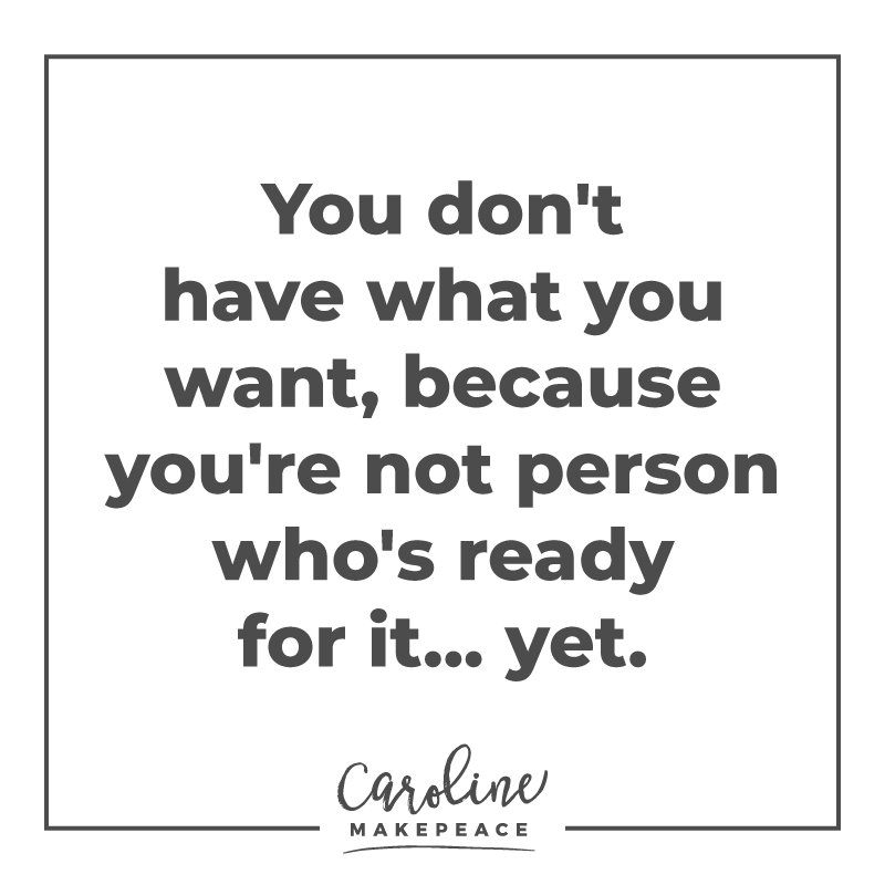 inspirational quote you're not ready for it yet #quote #inspirationalquote #dreams