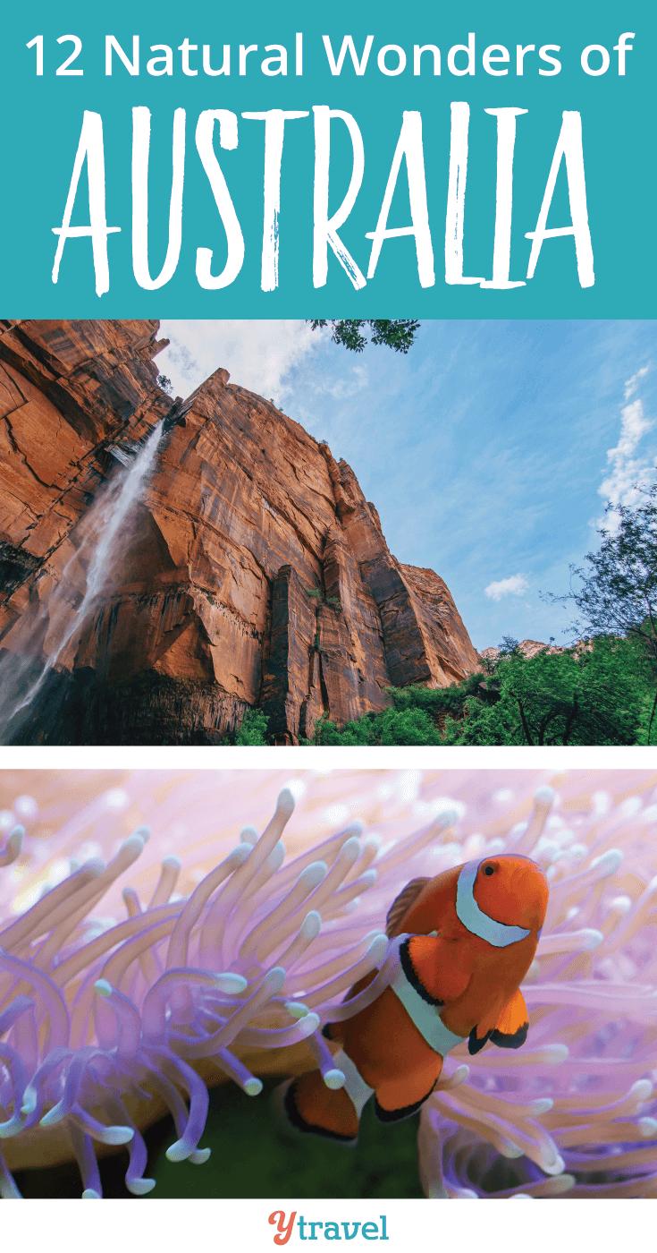 Explore these amazing 12 Natural Wonders of Australia.