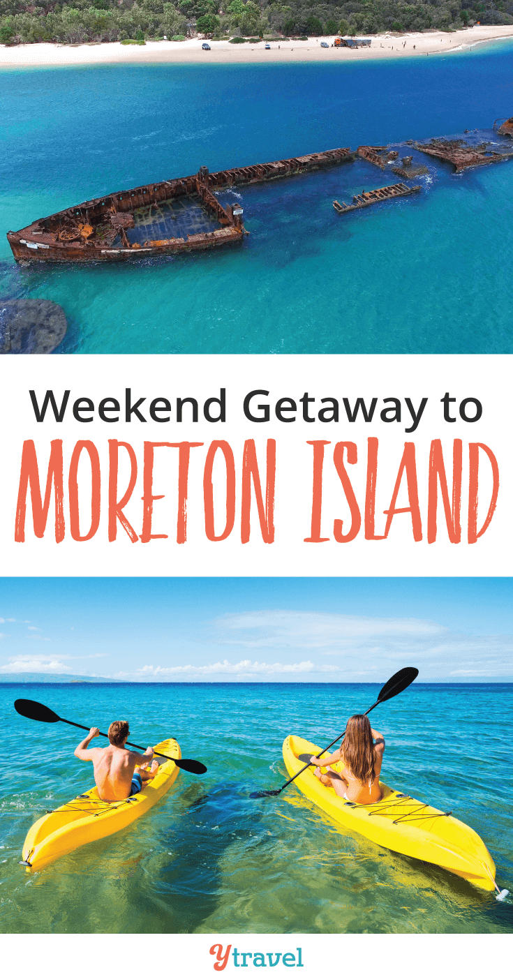Check out our adventurous weekend getaway to Moreton Island.