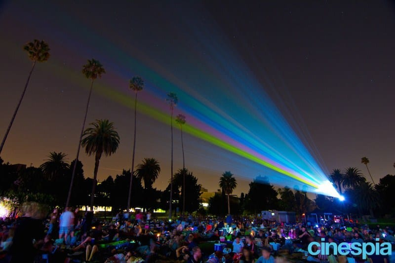 Cinespia / Hollywood Forever , Los Angeles