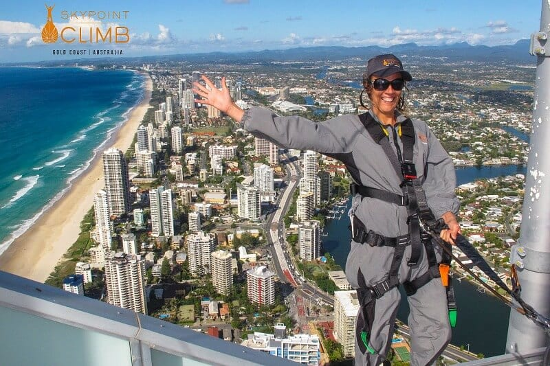 Skypoint monter sur la Gold Coast, Queensland, Australie