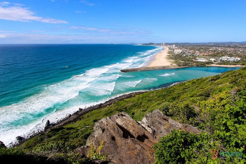 Burleigh Heads National Park, Gold Coast, Queensland, Australia
