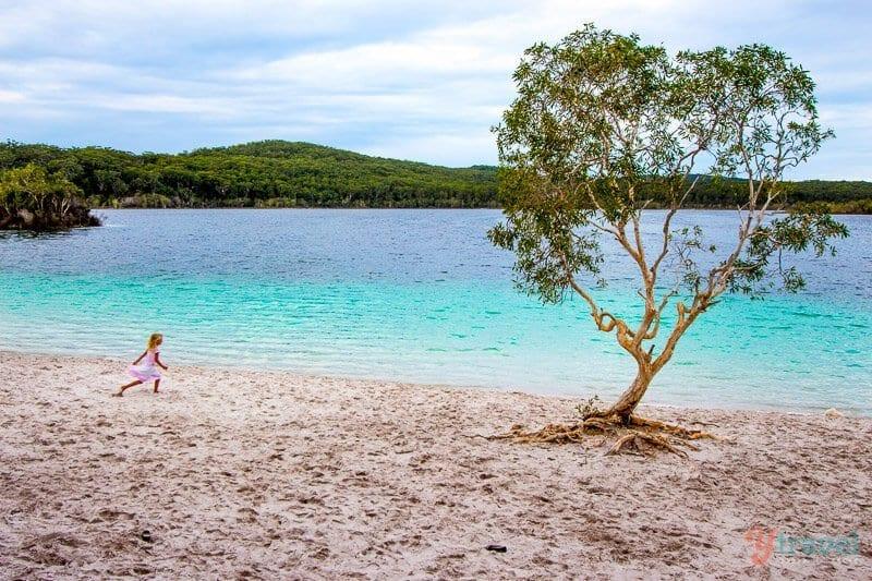 Lake Mackenzie Fraser Island, Queensland, Australia