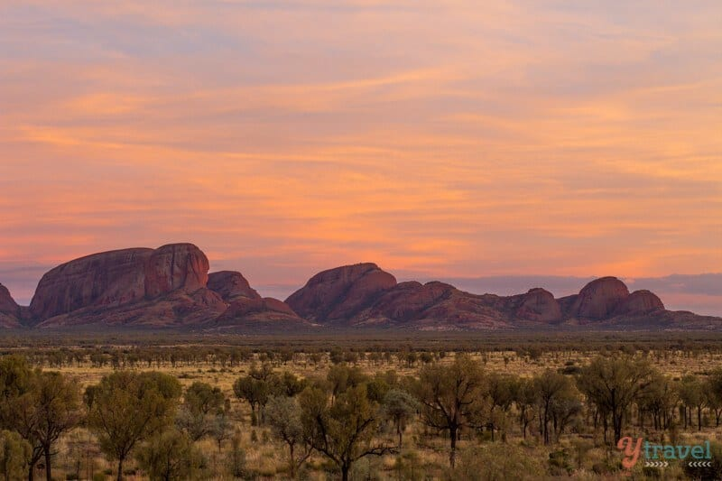 Kata Tjuta - one of Australia's natural wonders