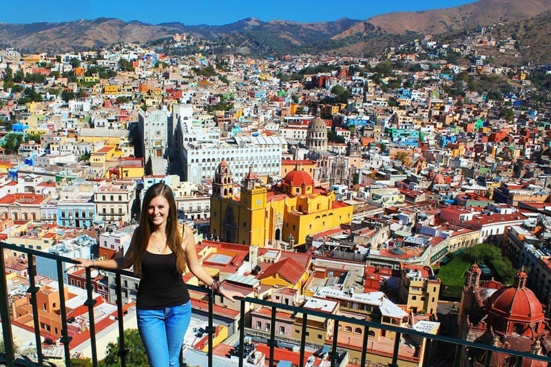 Lauren in Guanajuato, Mexico