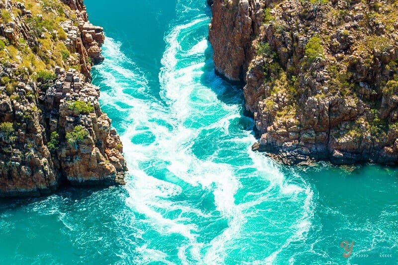Horizontal Falls - one of Australia's natural wonders
