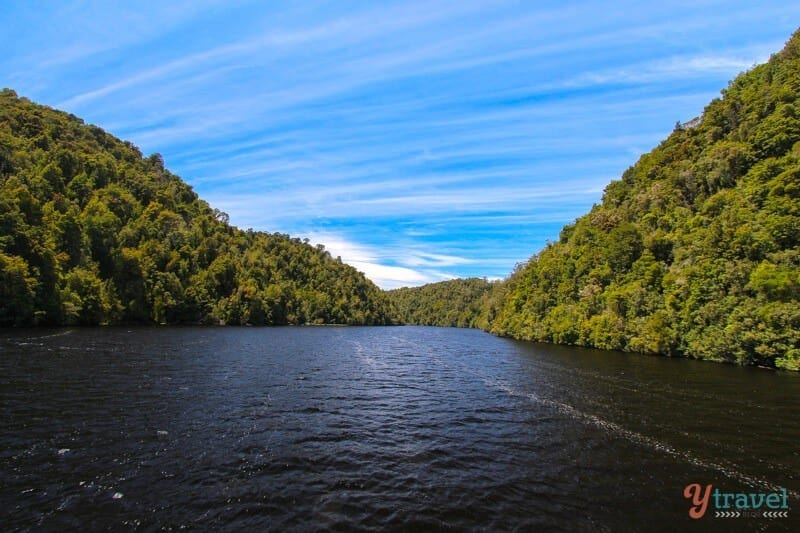 The Gordon River in Tasmania - a natural wonder of Australia