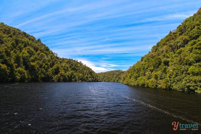The Gordon River in Tasmania - a natural wonder of Australia