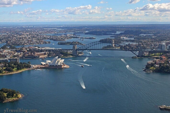 Sydney Harbour - a natural wonder of Australia. Click inside to see the others.