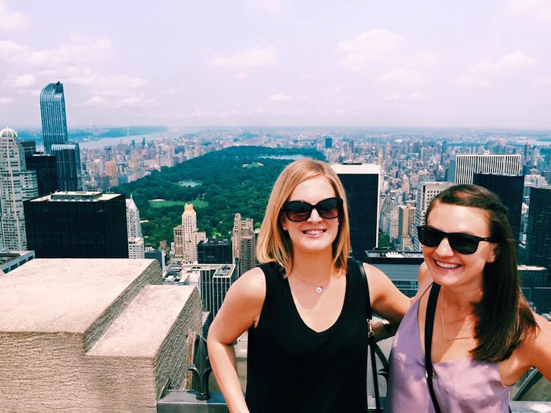 Celebrity living in new york city