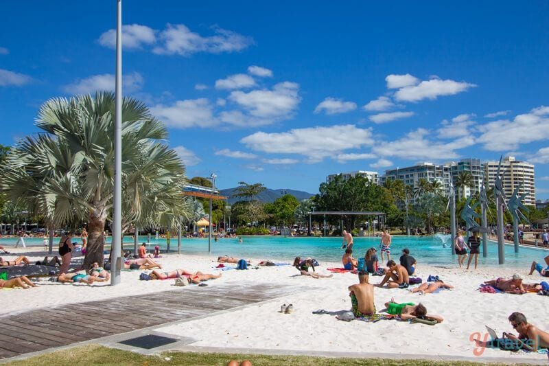 Cairns Lagoon, Queensland, Australie