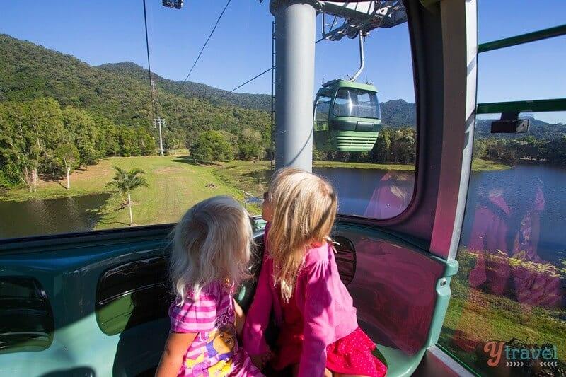 Téléphérique Skyrail Rainforest à Cairns