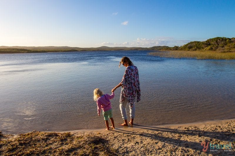 Blue Lagoon, Moreton Island, Queensland, Australia