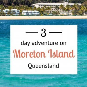 3 days on Moreton Island, Queensland, Australia