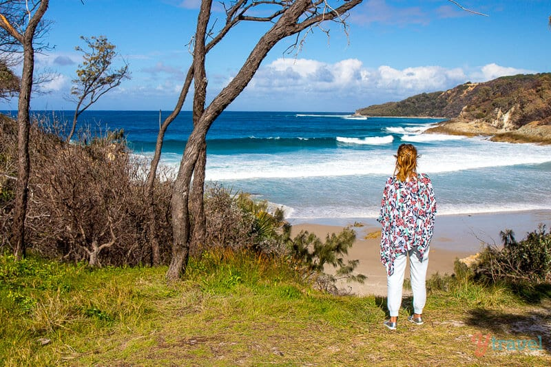 Honeymoon Bay on Moreton Island, Queensland
