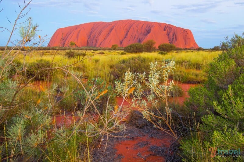 Uluru - one of Australia's natural wonders