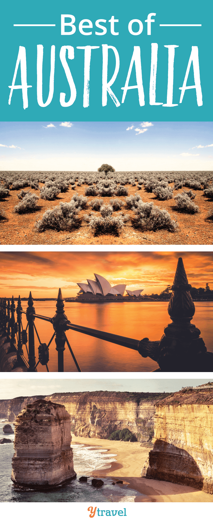 Thinking of traveling to Australia? Click inside to learn about the best beaches, islands, cities, National Parks, food and wine regions, and much more!