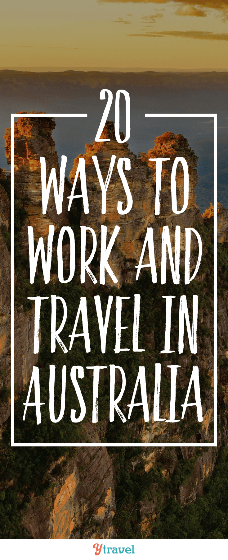 Traveling in Australia can be hard on the pocketbook. We've come up with 20 ways to work and travel in Australia that can help turn your travel dreams into reality.
